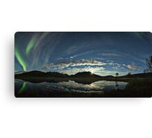 Aurora Polaris Pano Canvas Print