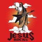 Funny Jesus Rocks Shirt by 785Tees