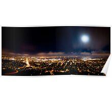 Moonlight Over San Francisco Poster