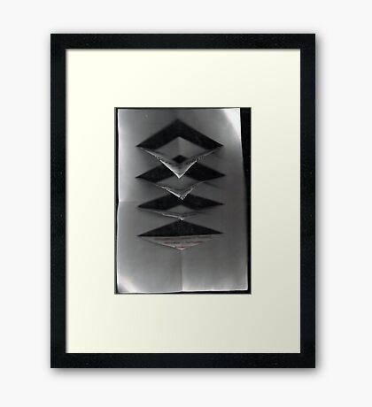 Paper, Folding and Scissors Framed Print