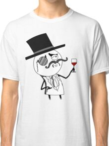 Monocle Guy Meme (Lulzsec) Classic T-Shirt