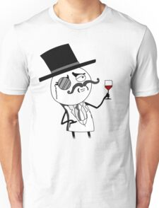 Monocle Guy Meme (Lulzsec) Unisex T-Shirt