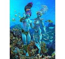 Sea Elves Photographic Print