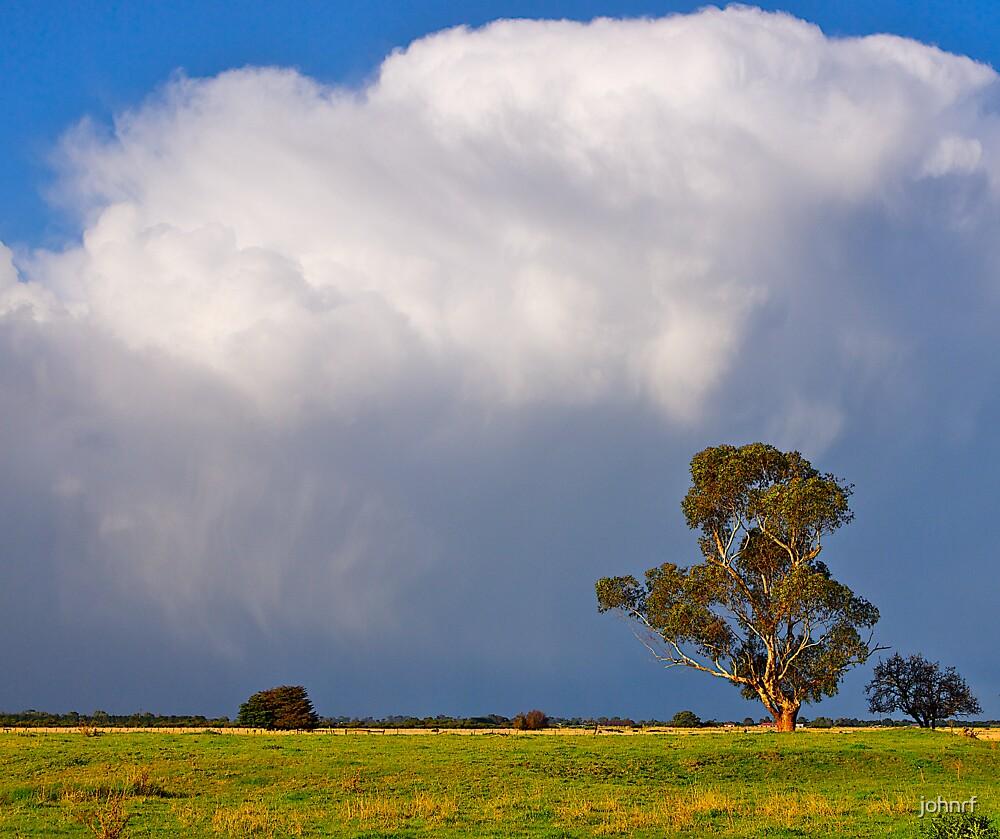 Storm clouds over Cardinia, Gippsland, Victoria. by johnrf