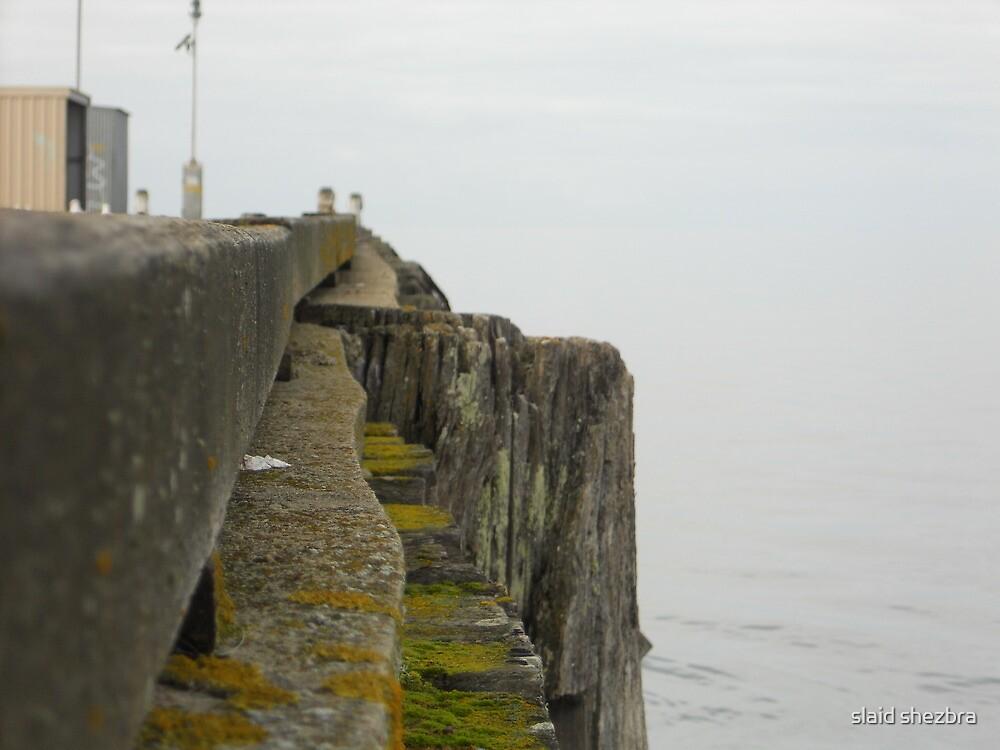 Edithburg jetty SA - dull jetty by slaid shezbra