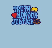 Truth · Honor · Justice Unisex T-Shirt