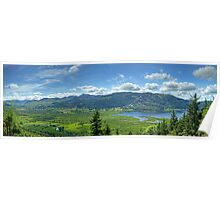 The View From Dodd Wood..A Panorama Poster