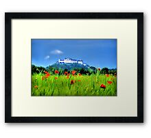 Salzburg Poppies Framed Print