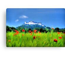 Salzburg Poppies Canvas Print