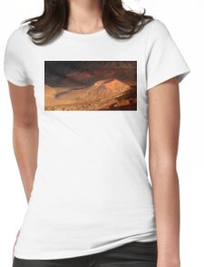 Haleakala Crater 3 Womens Fitted T-Shirt