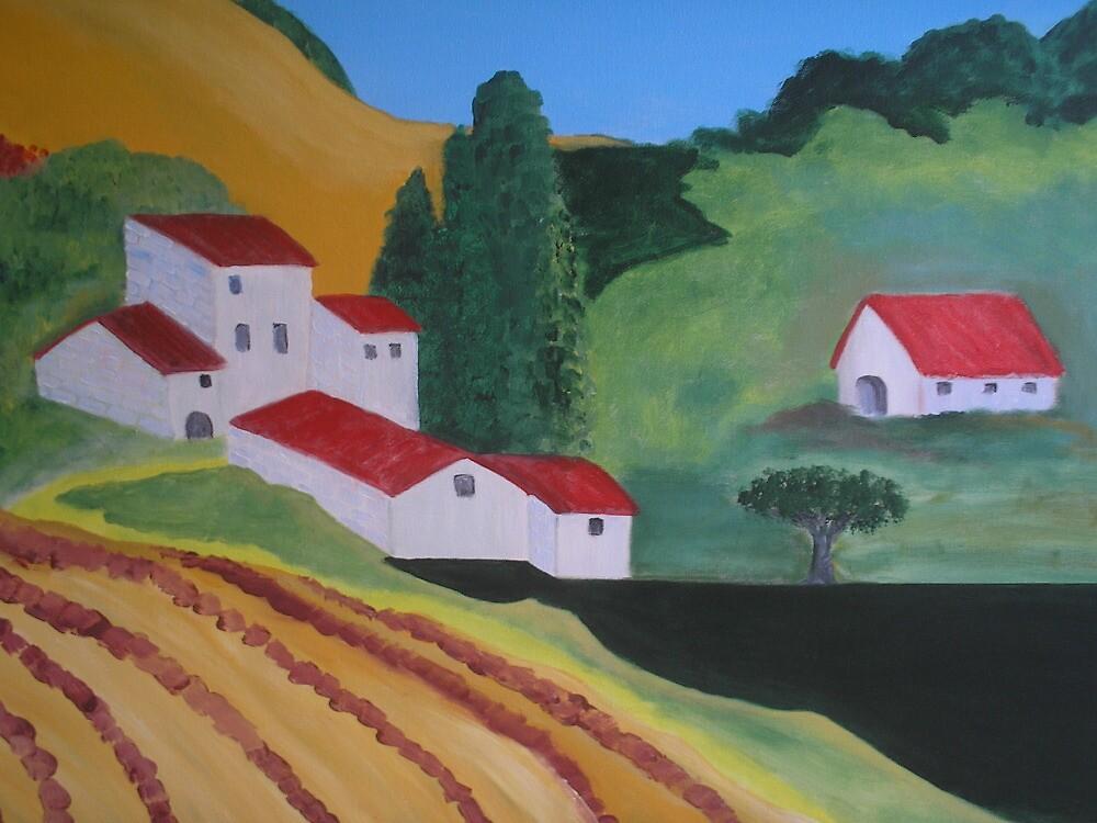 Tuscany by Corinna