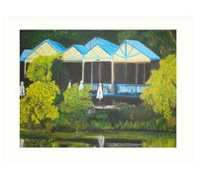 Peninsula Lakeside Art Print