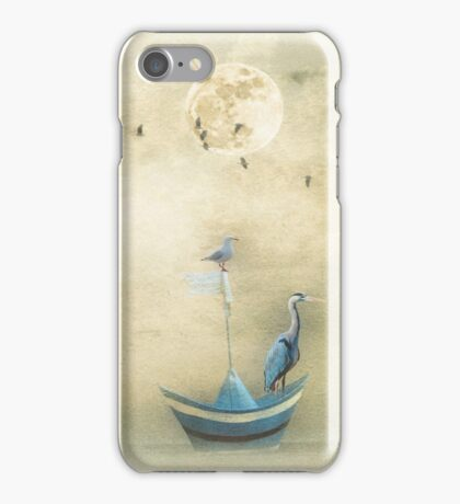 Sailing by the Moon iPhone Case/Skin