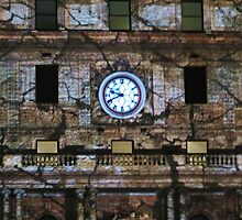 Customs House Clock by Michael John