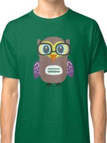 Nerdy owl  Classic T-Shirt