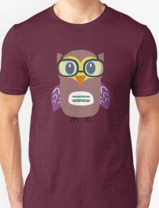 Nerdy owl  Unisex T-Shirt