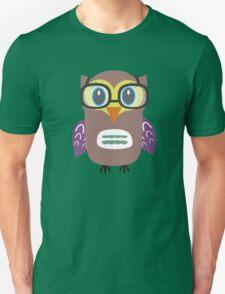 Nerdy owl  T-Shirt