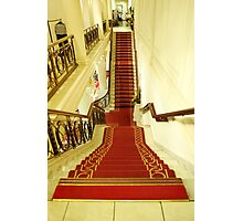 up and down at Clery's, Dublin Photographic Print