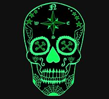 Logistic Specialist - Day of the Dead Neon Green Hoodie