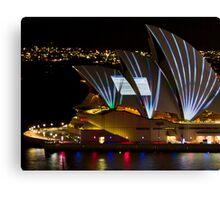 Error Msg Sails - Sydney Vivid Festival - Sydney Opera House Canvas Print