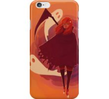 Reaper Girl in the Desert iPhone Case/Skin