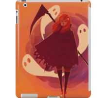 Reaper Girl in the Desert iPad Case/Skin