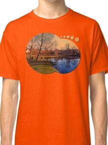 Winter mood on the river IV | waterscape photography Classic T-Shirt
