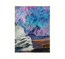 A Scene of Colors Art Print