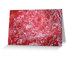 waterofred Greeting Card