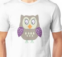 Sad  owl  Unisex T-Shirt