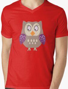 Sad  owl  Mens V-Neck T-Shirt