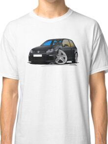 VW Golf R Black Classic T-Shirt