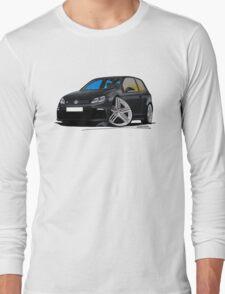 VW Golf R Black Long Sleeve T-Shirt