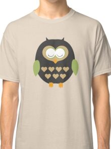 Sleeping owl  Classic T-Shirt