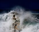Winter Waves At Pipeline 12 by Alex Preiss