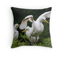 Watch and Learn Throw Pillow