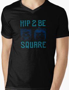 Hip 2 Be Square Mens V-Neck T-Shirt