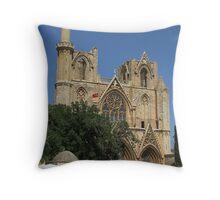 Lala Mustafa Pasha Mosque Throw Pillow