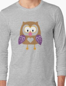 Ugly owl  Long Sleeve T-Shirt