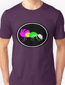 Brightly Colored Ant Unisex T-Shirt