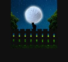 Cat in the Moonlight Unisex T-Shirt