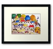 Everybody has a story to tell Framed Print