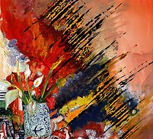 Flowers Abstract by Adam Howie