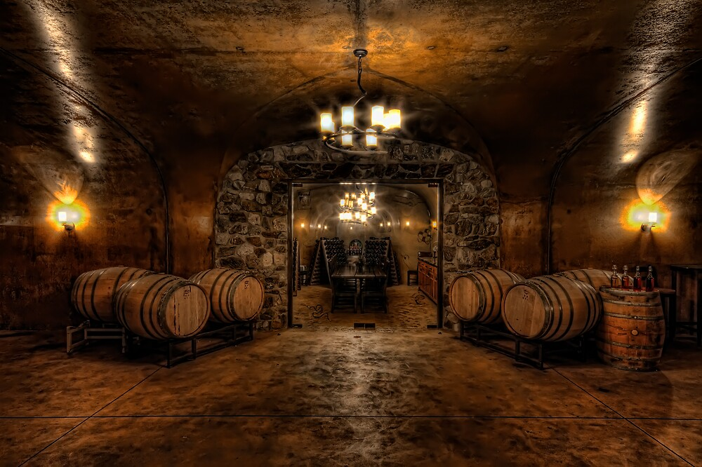 Karma Winery Cave by Brad Granger