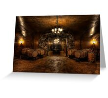 Karma Winery Cave Greeting Card