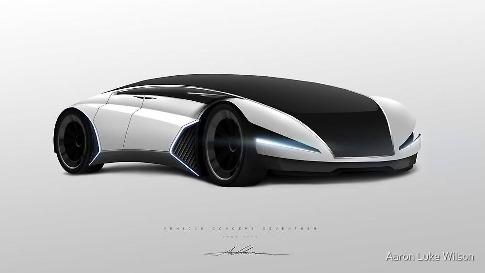 Concept Vehicle Seventeen by Aaron Luke Wilson