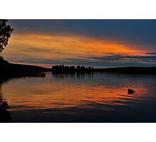 Muskoka Sunset 2 Photographic Print