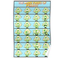 The many faces of Peridot Poster