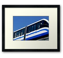 train to Moscow Framed Print