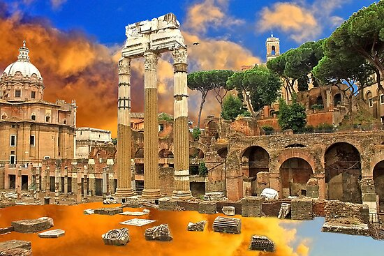 Temple of Venus Genetrix . Rome by terezadelpilar~ art & architecture